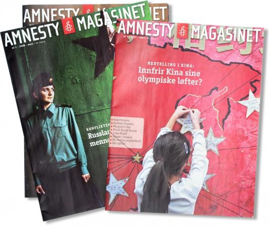Amnesty  Magasinet