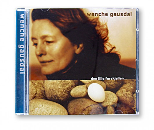 CD  cover  til  Wencke  Gausdal
