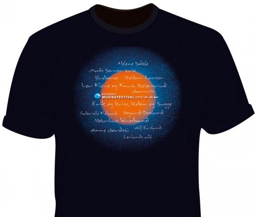 musikkfestival  t-skjorte  2010