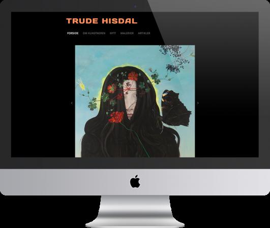 Kunstnaren  Trude  Hisdal